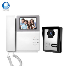 Doorbell Video-Intercom Outdoor-Camera Phone-System Wired Color-Screen Home for 700TVL