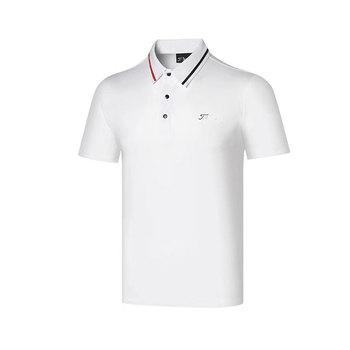 Wirujące nowy odzież golfowa męska lato t-shirt do golfa odprowadzający wilgoć odporne na promieniowanie uv t-shirt do golfa darmowa wysyłka tanie i dobre opinie Poliester spandex Akrylowe Krótki Anty-pilling Przeciwzmarszczkowy Oddychające Szybkie suche Koszule Pasuje prawda na wymiar weź swój normalny rozmiar