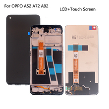 Original For Oppo A72 A92 A52 2020 CPH2069 CPH2067 LCD Display Touch Screen Digitizer Assembly For OPPO A52 4G 2020 Screen LCD