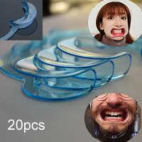 20 stücke C Form Mund Opener Mund Gag Dental Werkzeuge Cheek Retractor Mund Treuer Lip Oral Saubere Opener Zahnarzt Materialien