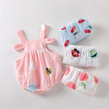 2020 new baby girls cotton romper sling robe and boys print jumpsuit for newborn children kids summer clothes 2020 New Baby Girls Cotton Romper Sling Robe and Boys Print Jumpsuit for Newborn Children Kids Summer Clothes