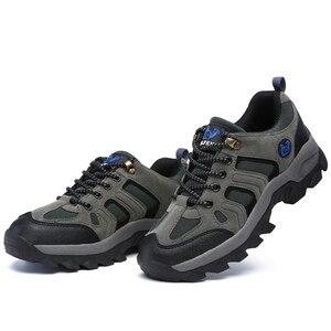 Image 4 - Hommes femmes Sports de plein air randonnée chaussures escalade Trekking chaussures Pro montagne espadrilles décontractées marche usure résistant bottes