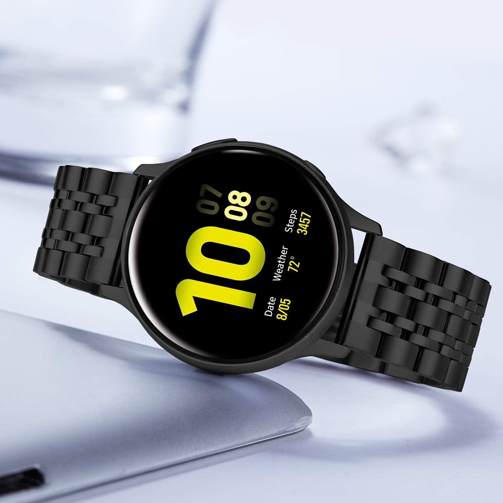 Gear <font><b>S3</b></font> <font><b>Frontier</b></font>/Classic <font><b>Smartwatch</b></font> Band for <font><b>Samsung</b></font> Galaxy Watch 46mm Strap 22mm 20mm Quick Release Active 2 40mm 44mm Bracelet image