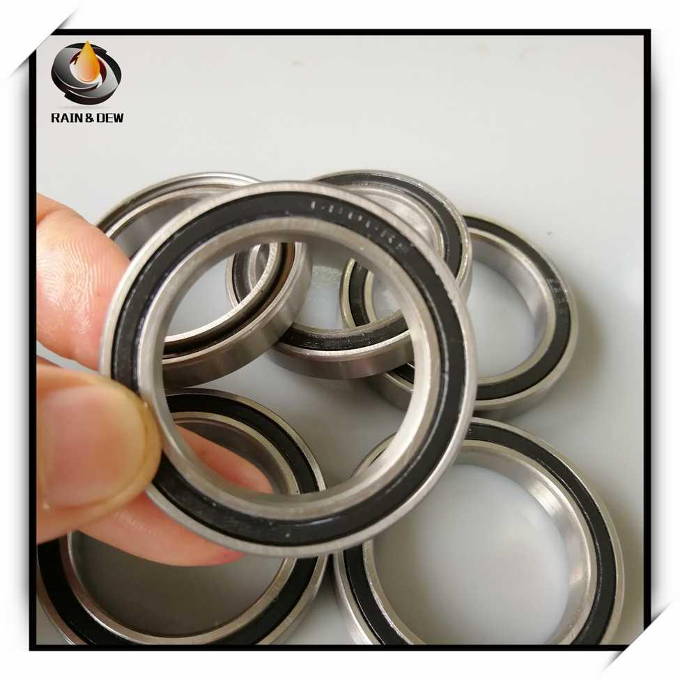 Ochoos Rubber Sealed 440 Stainless Steel Hybrid Ceramic Ball Bearings S6806 6806 2RS 30427mm Si3N4 Bike Part