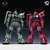 COMIC CLUB IN STOCK Refitting Suite of GK resin for MG 1/100 MS 06S ZakuⅡ Commander Type assemble action toy figure