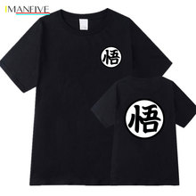 Dragon Ball t shirt homme Summer Short Sleeve dragon ball 100% Cotton tshirt Streetwear camisetas hombre men
