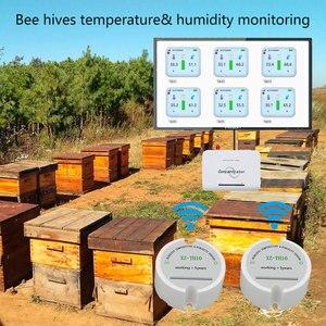 Image 5 - Sensor inalámbrico de temperatura y humedad 433mhz 868/915 sensor de temperatura humedad registrador de datos inalámbrico enviar datos al servidor a través de wan