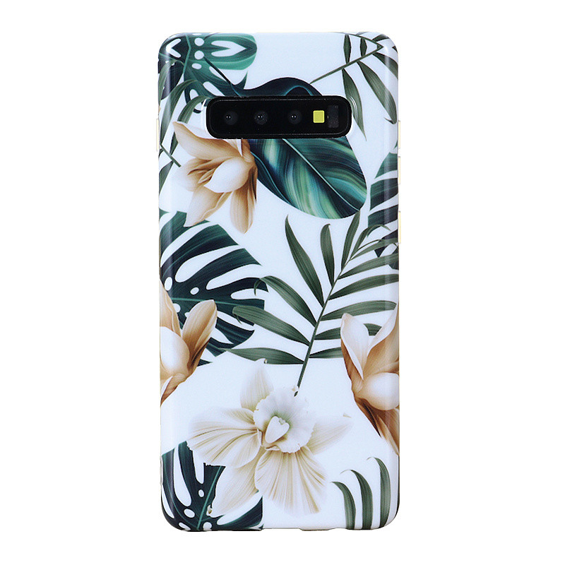 For Samsung Galaxy S10 Plus 6.4 Inch Shock Proof Flower Cute Girls Phone Case Mobile Phone Cases Covers Чехол Для Телефона