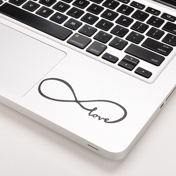 """1PC Love Infinity Vinyl Decal Stickers Skin Cover For MacBook Air/ 11"""" 12"""" 13""""15"""" 17"""" Inch Gifts For Xmas 1"""