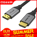 QGeeM 8K HDMI-кабель совместимый с HDMI 2,1 провод для Xiaomi Xbox Serries PS5 4 Chromebook ноутбуки 120 Гц HDMI-Сплиттер цифровой кабель