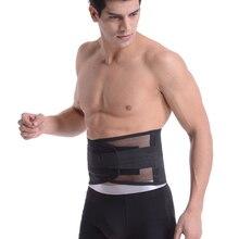 все цены на Waist Pain Relief Belt Back Corset for Men Women Heavy Lift Work Back Support Brace Straps Lumbar Support Belt Posture Corrector онлайн