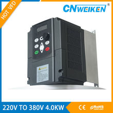 CE 220V to 380V 4KW Frequency inverter Variable Frequency Converter for Water Pump Motor inverters AC Driver VFD(China)