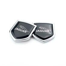 4.3x3.9cm רכב סמל תג עבור יגואר ספורט XJ XS XK XF F קצב X סוג S סוג E קצב XJL XKR XJS חלון צד מדבקת קישוט
