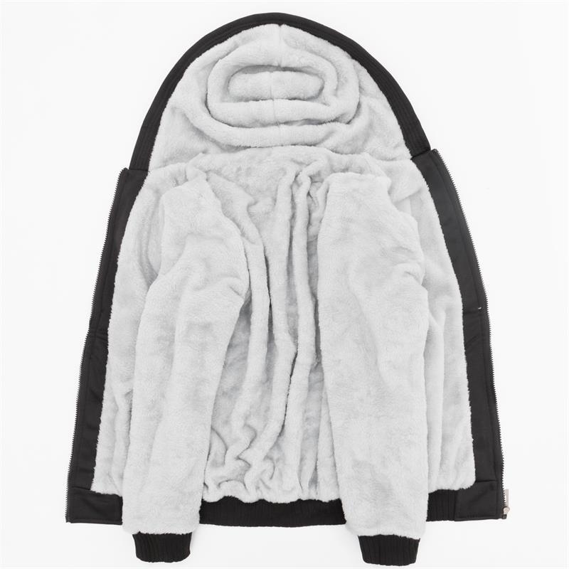Image 5 - Men Hoodies Jordan 23 Thick Jacket 2019 Winter Sweatshirts Raglan Mens Streetwear Coat Thick Jacket Hip Hop Hoodies Harajuku-in Hoodies & Sweatshirts from Men's Clothing