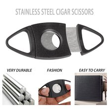 Cigar Cutter Brand New Stainless Steel Metal Classic