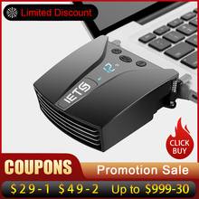 IETS 6 GT202 Deflate Light Laptop Fan Cooler with Temperature Display Side-draft Laptop Cooling Fan Radiator For Laptop