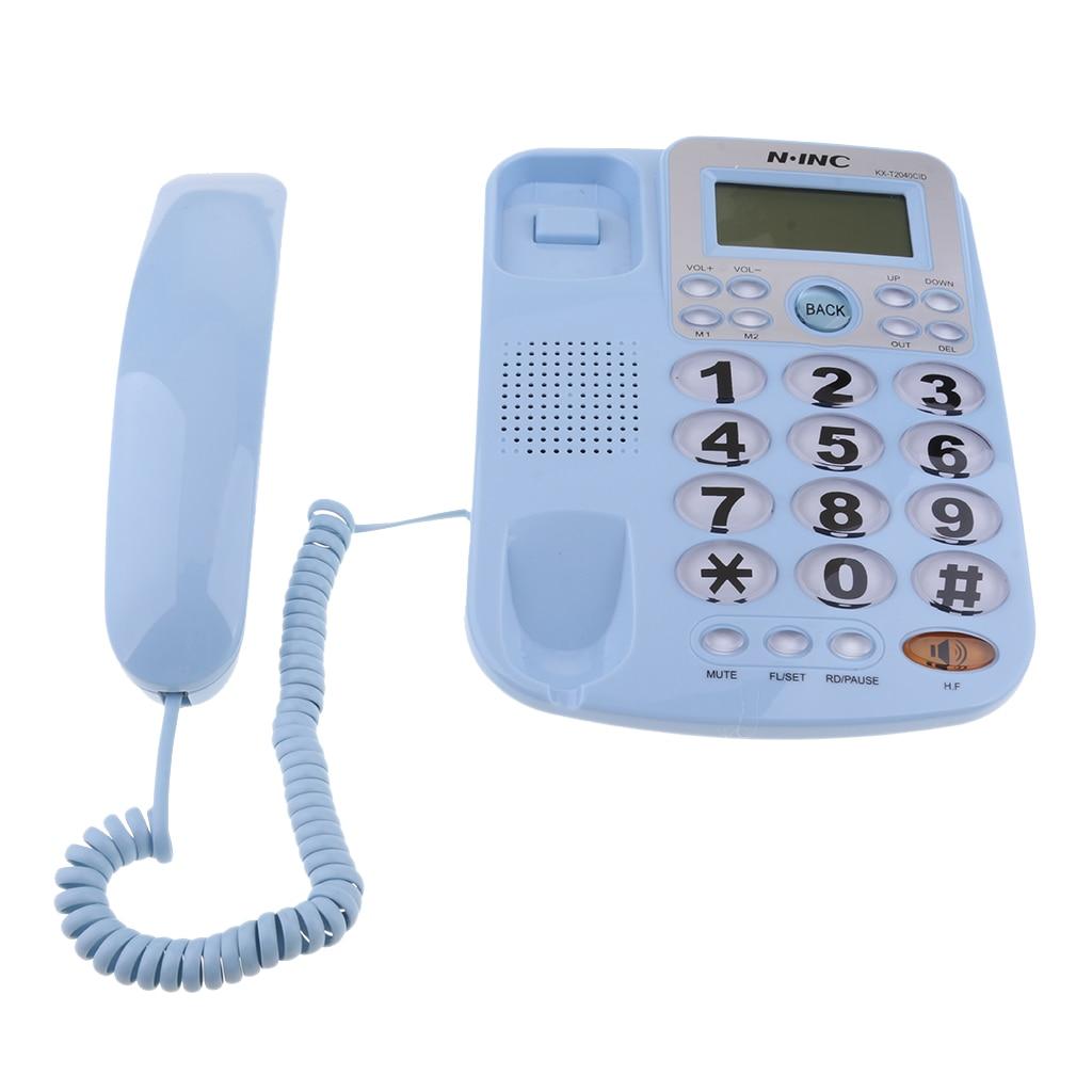 Universal Corded Landline Phone Home Office Business Desk Telephone