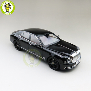 Image 2 - 1/18 Almost Real Mulsanne W.O. Edition Mulliner Diecast Metal Model car Gifts Collection Hobby