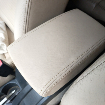 Car Interior Center Armrest Console Box Cover Microfiber Leather Sticker Trim For Skoda Octavia 2007 2008 2009 2010 2011 - 2014 car styling center control armrest box skin cover black microfiber leather with blue stitching for toyota rav4 rav 4 2006 2014