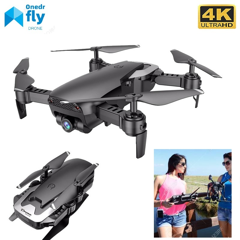 S163 Drone 4K HD Camera Professional Aerial Photography Helicopter Foldable Real Time Transmission  Give Someone A Great Gift