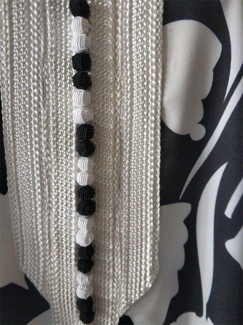 Ethnic Abaya Dress for Women Elegant Ribbon V Neck Long Sleeve Loose Plus Size Moroccan Turkey Arabic Muslim Clothes 6