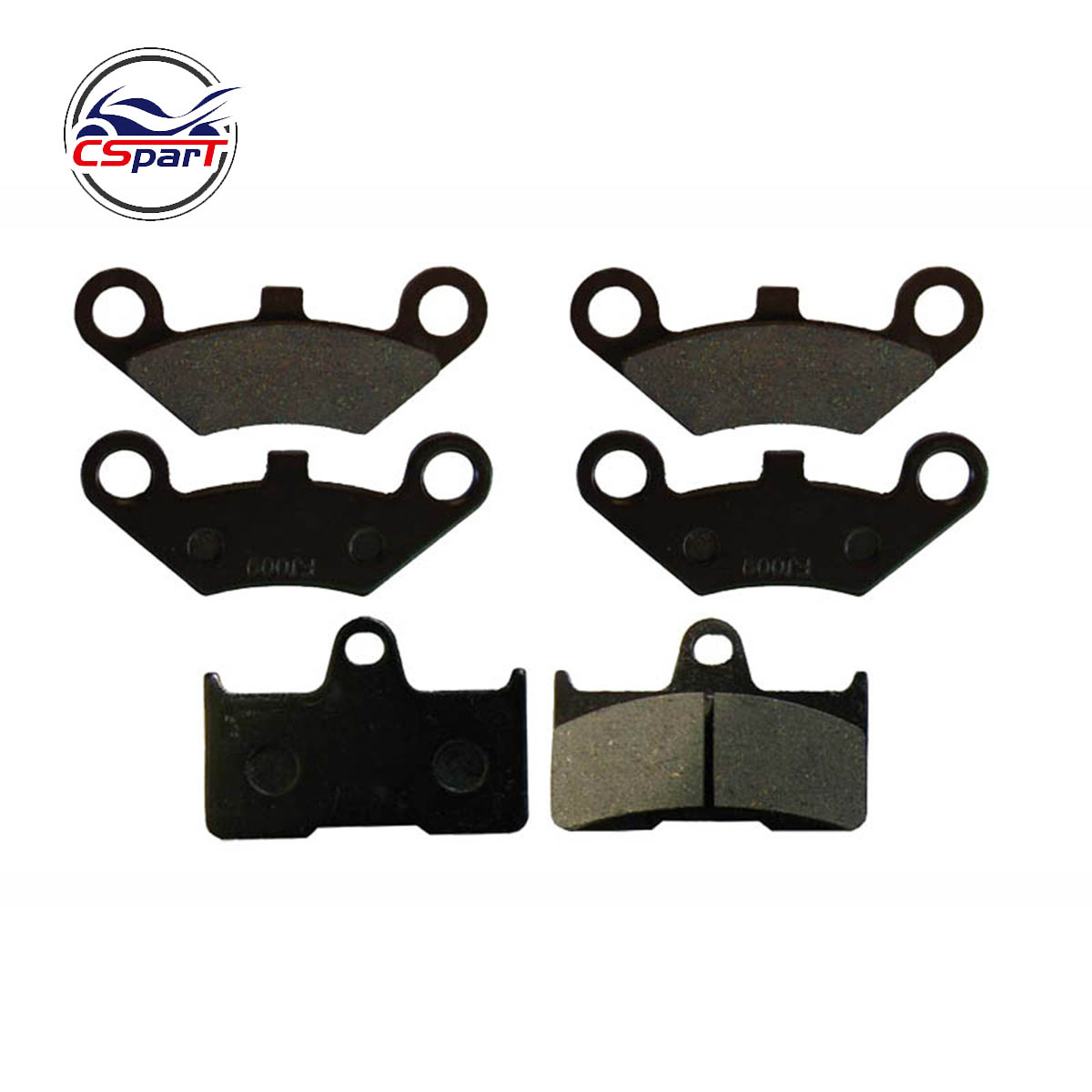 3 Pairs Semi Metallic Front Rear Brake Pad For CFmoto CF500 500 500CC  CF600 600 600CC X5 X6 X8 U5 ATV UTV Shineary