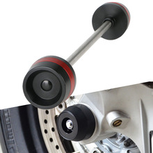 Buy CNC Motorcycle Front Axle Fork Wheel Slider Crash Falling Protector For Suzuki GSX-S750 GSXS750 GSX-S1000 GSXS 1000 Motorcycle directly from merchant!