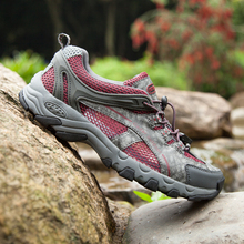 New Fashion Hollow Creek Shoes High Top Quality Outdoor Wading Men Casual Shoes Soft Light Weight Mountain Non-slip Men Shoes deep hollow creek