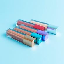 Multi-color Optional Lipgloss Private Label Red Matte Liquid Lipstick Metallic Cap Selected No Label Lip Gloss Glitter Wholesale