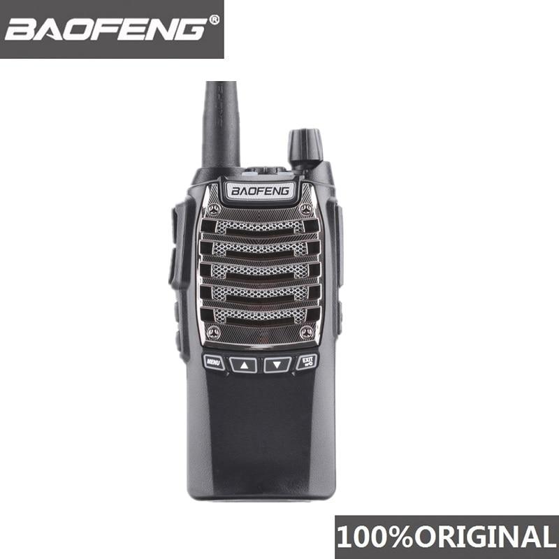 100% Original 8W 128 Channels Hand Free Baofeng UV-8D Walkie Talkie KM UHF 400-480MHz Portable Radio Comunicador UV8D Interphone