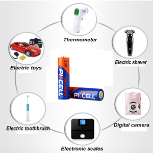 Image 5 - 20 PCS PKCELL AA Batterij 1.5 V LR6 AA Alkaline Batterij 2A E91 AM3 Enkele Gebruik Batterij Batterijen Bateria