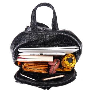 Mochila feminina de alta qualidade mochila de couro mini mochila de venda superior na promoção frete grátis para meninas - 3