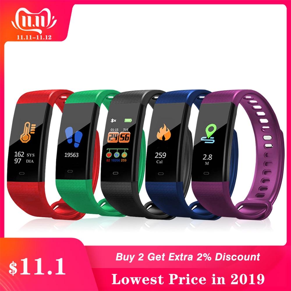 Smart Wristband Blood Pressure Monitor Oximeter Oxygen Heart Rate Band Bracelet Sports Fitness Tracker Watches sphygmomanometer