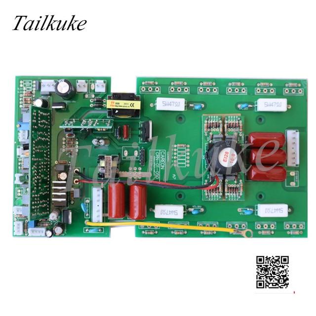 ไฟฟ้าเครื่องเชื่อมอินเวอร์เตอร์แผ่น ZX7/200/250 DC คู่มือเชื่อมบน 220V MOS ท่อ Circuit Board