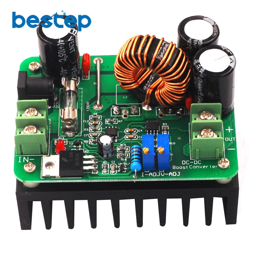 600W DC-DC 10 V-60 V zu 12 V-80 V Step Up Boost Modul Solar Notebook high Power Step-up Converter Booster Bord
