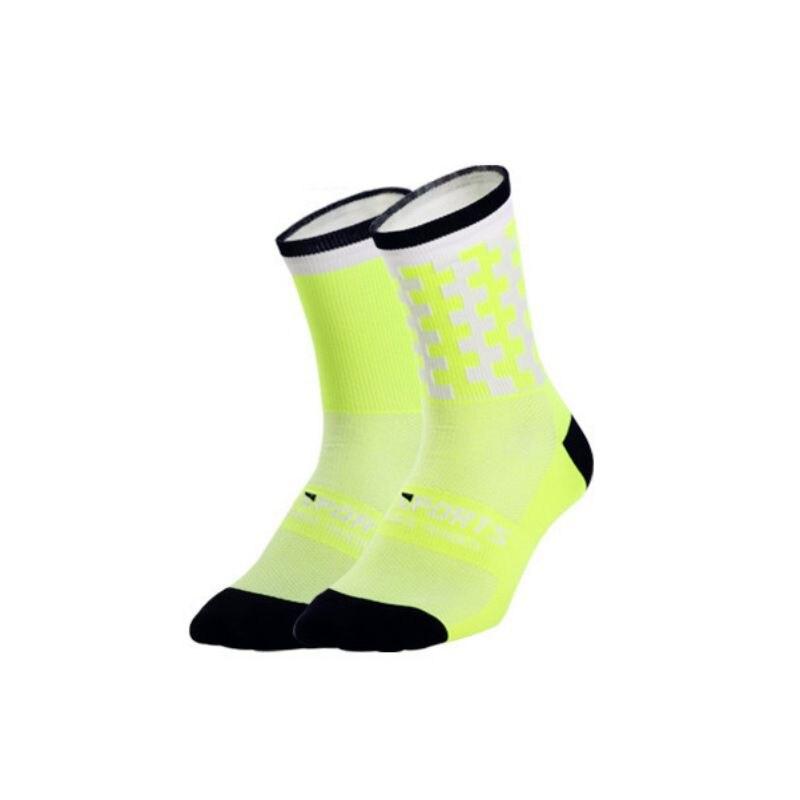 1 пара профессиональных спортивных носков для мужчин и женщин, дышащие спортивные носки для тренировок, бега, походов, альпинизма - Цвет: G