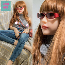 Азии кукла любовь, японского аниме силиконовые секс куклы, 165 см чашка китайский молодая девушка эльф, маленькая грудь влагалища киска анал оральный секс