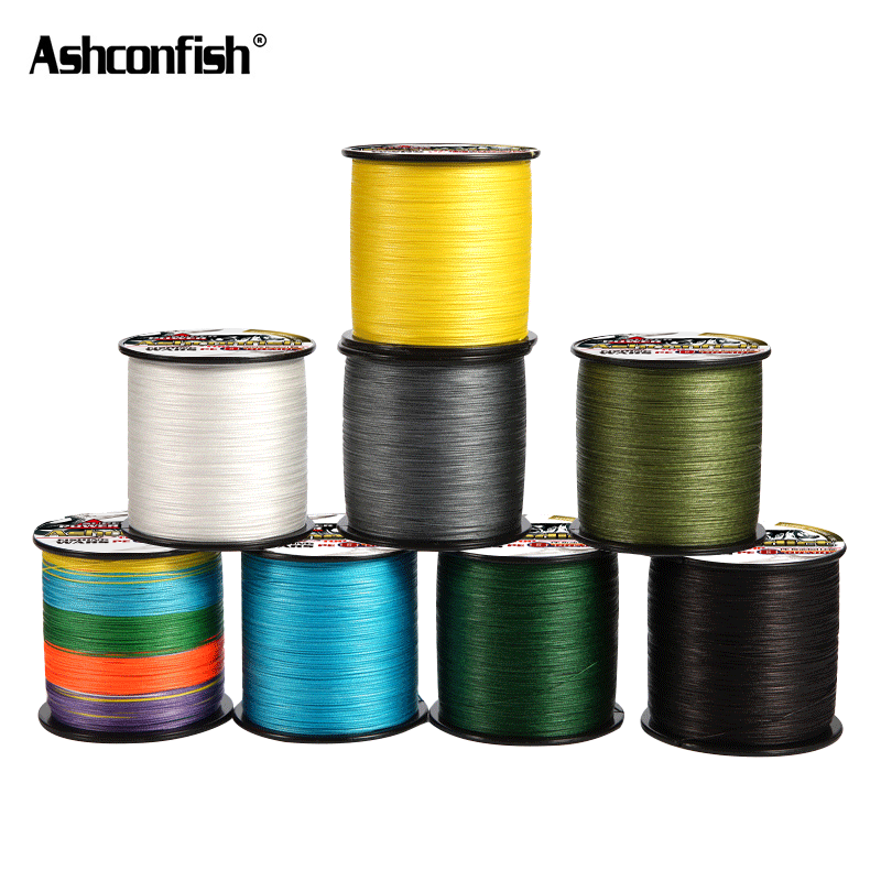 braided line 8 Strands 500M 1000M super pe ice sea fishing 8-300LB spectra green grey blue multi-color Multifilament 0.12-1.0mm