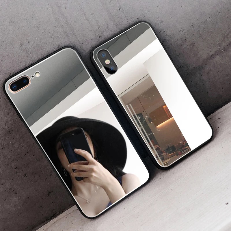 Mirror Silicone Phone Case With High Quality Material for HUAWEI P20 P30 P40 Lite 3