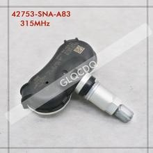 TPMS sensörü 2009 2016 HONDA INSIGHT 315MHz lastik basıncı sensörü 42753 SNA A83 42753 SNA A84 42753 TR0 A81 42753 TR3 A81
