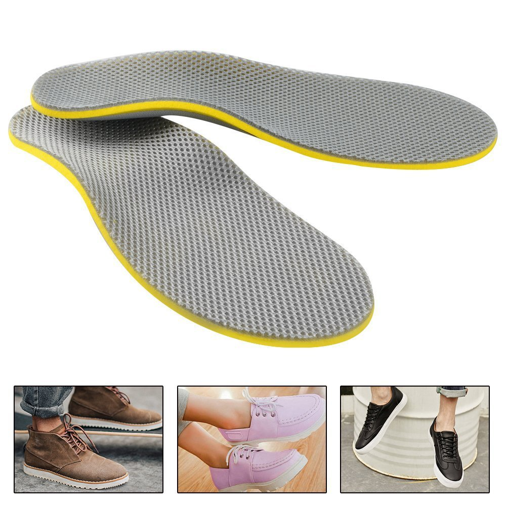 Wholesale Grid Arch Support Flatfoot Correction Insole Splayed Toes-out Orthopedic Insole New Style