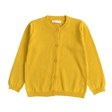 цены Baby Boys Girls Sweaters Tops Clothes Toddler Children Knitted Cardigan Clothes Kids Spring Autumn Winter Long Sleeve Sweater