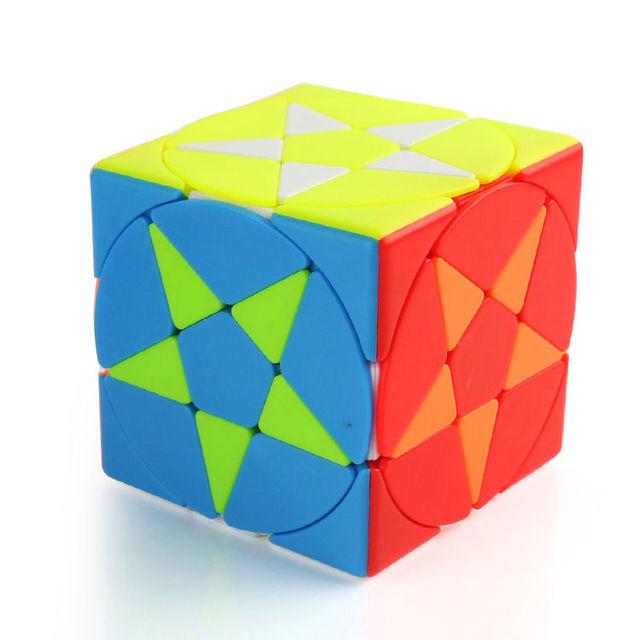 Magic Pentacle Cube Profissional Strange-shape Stars Pentagram Magic Cube Competition Speed Puzzle Cubes Toys For Children Kids 4