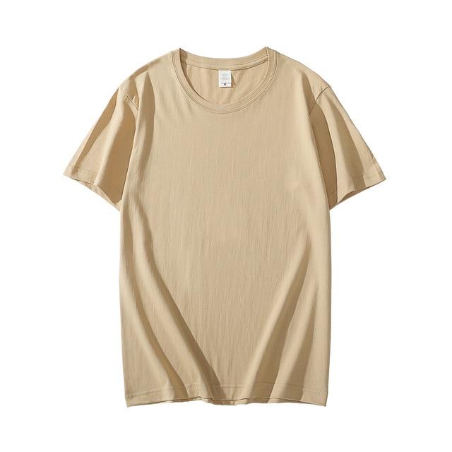 MRMT 2021 Brand New Cotton Men's T-shirt Short-sleeve Man T shirt Short Sleeve Pure Color Men t shirt T-shirts For Male Tops 4