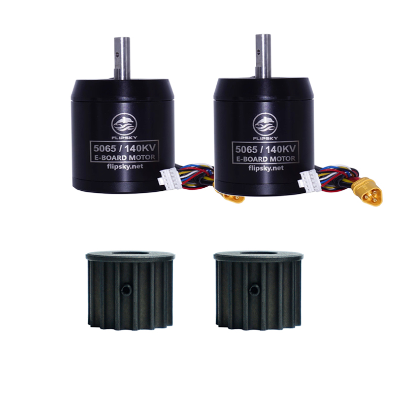 Flipsky Sensored Brushless Motors With 8mm D Shape Pulley BLDC H5065 140KV 1200W For Electric Skateboard/Balancing Car