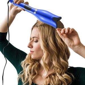 Image 1 - מקצועי סלון רב פונקצית LCD מסך קרלינג ברזל שיער Curler סטיילינג כלי רולים להסס תלתל אוטומטי מתולתל ברזל 20 #82