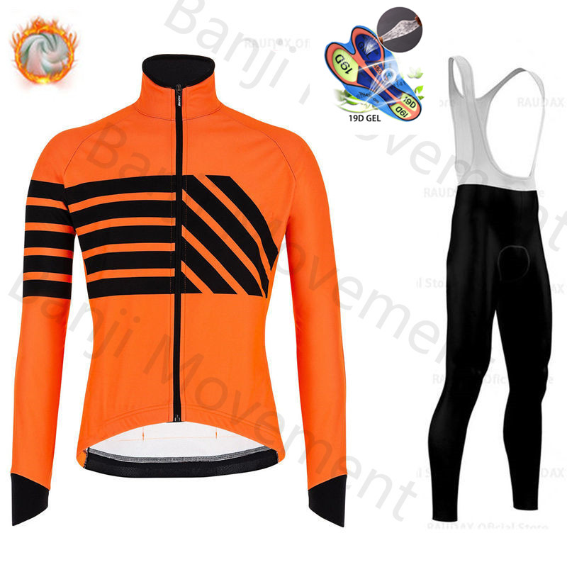 Новинка Santini 2020, Зимняя Теплая Флисовая велосипедная футболка с длинным рукавом, Мужская одежда, профессиональная команда, уличная