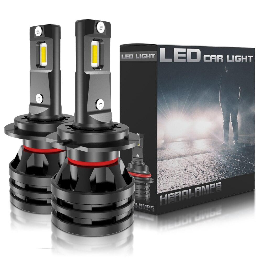 2x LED H7 Car Lights 16000LM H11 LED Lamp for Car Headlight Bulbs H4 H1 H8 H9 9005 9006 HB3 HB4 Turbo H3 9012 LED Bulbs 12V 24V