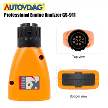 GS-911 V1006.3 OBD2 Car Diagnostic Tool GS911 For BMW Motorcycles Emergency Diagnostic Scanner Professional Analyzer Car Tools