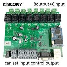 Модуль Автоматизации умного дома управление Лер сети TCP IP реле управления Domotica удаленное приложение/ПК системы 8 каналов переключения 8CH сенсор